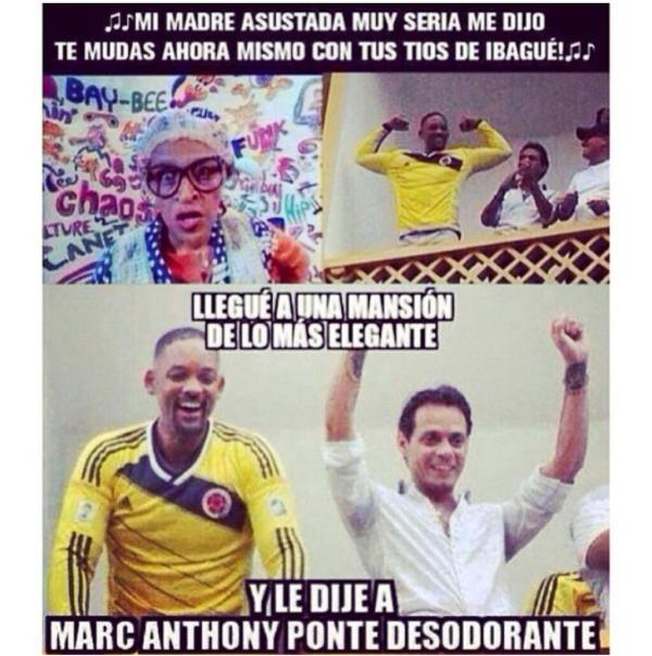 Will Smith en Colombia