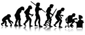 evolución geek (humor geek)