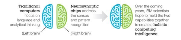 TrueNorth el chip de IBM que simula el cerebro humano