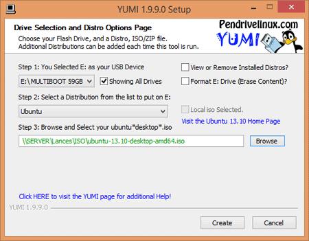 YUMI Multiboot USB