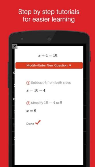 AutoMath la App que resuelve ecuaciones con la cámara
