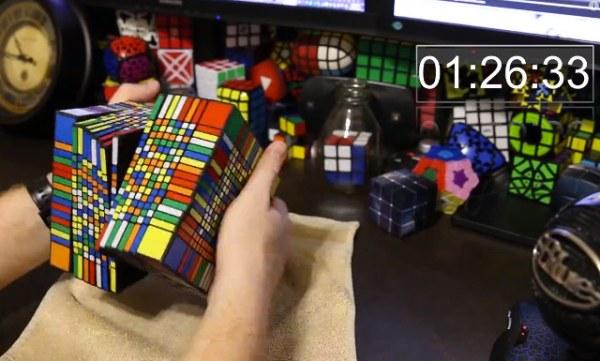 Rubik 17 x 17