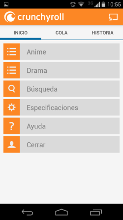 ver anime en android
