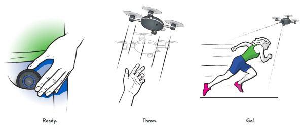 Lily un dron cámara con mucha personalidad, lo más parecido a una GoPro voladora