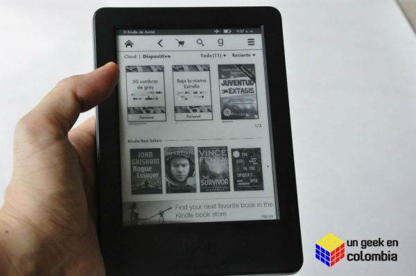 Amazon Kindle review y experiencia de uso