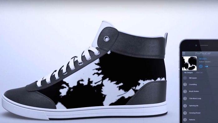 60bc8a11 ShiftWear serán los zapatos que podrás personalizar a tu gusto desde el  celular