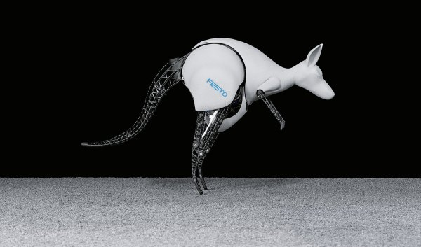 BionicKangaroo Canguro robótico