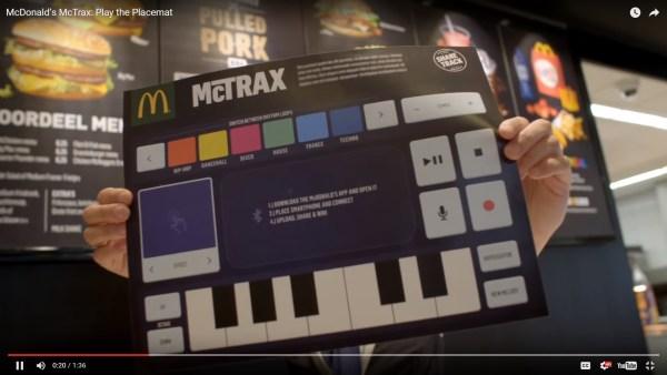 McDonald's McTrax