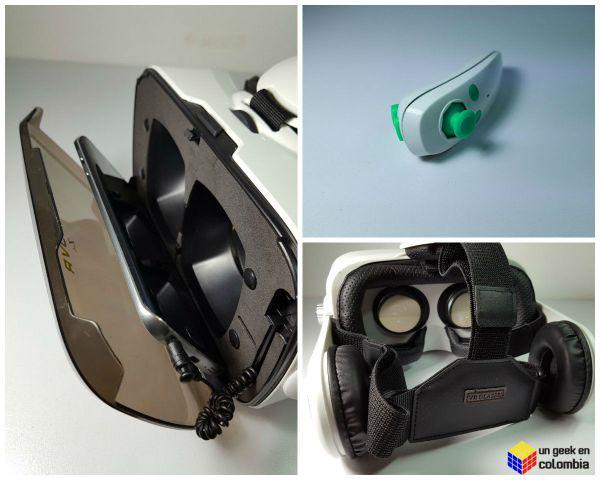 Experimentando la realidad virtual con las BOBOVR Z4