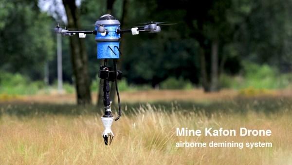 El Mine Kafon Drone es el primer dron antiminas del mundo