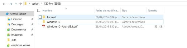 Como restaurar Windows 10 a tu Teclast X80 Pro