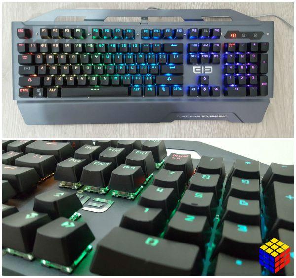 Review ELE EleEnter Game 2 un teclado mecánico de precio cómodo y excelentes prestaciones