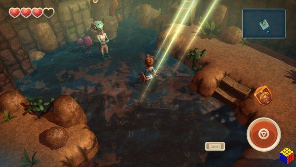 Oceanhorn un clon de Zelda para celulares que vale la pena