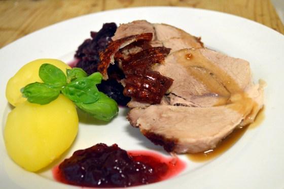 Svinestek. Typisk norsk middag hele året.