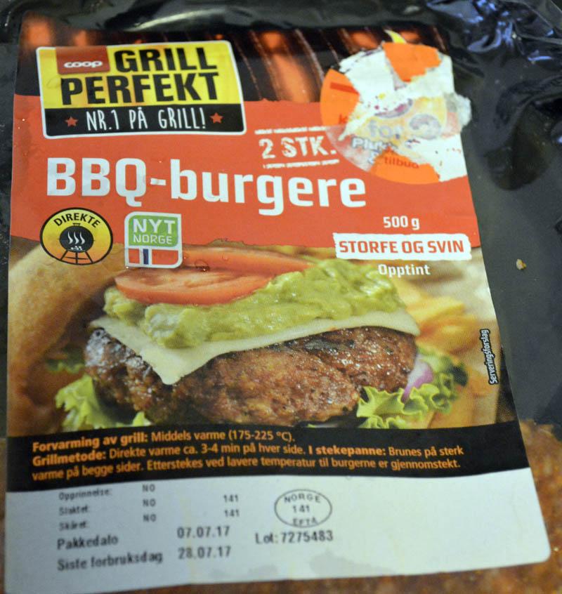 Coop Grill Perfekt BBQ-burger