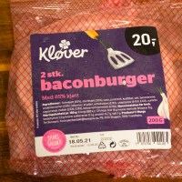 Kløver Baconburger