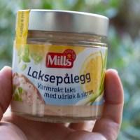 Mills Laksepålegg Varmrøkt laks med vårløk og sitron