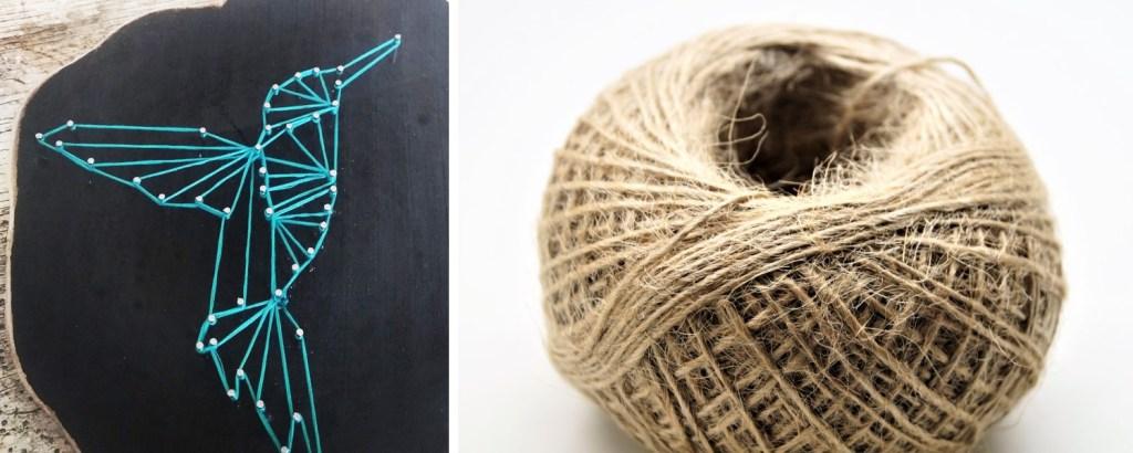 String Art - Un grand Marché