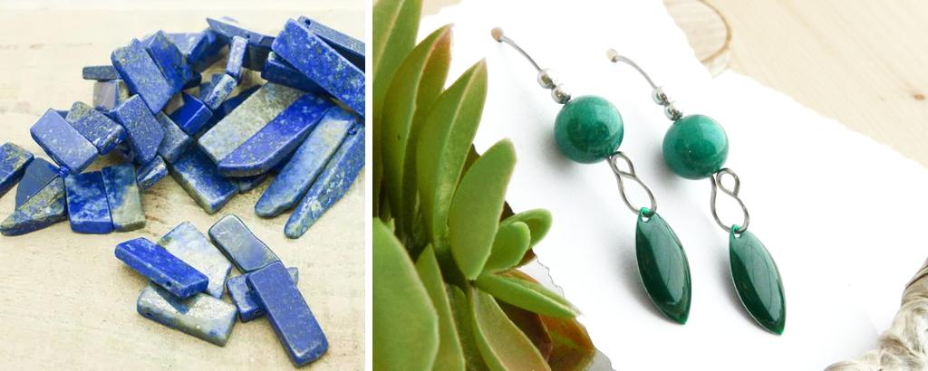 Pierres gemmes significations : perles, création, bijoux - Un Grand Marché