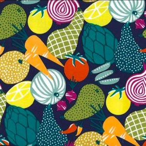 Tissu légume - Un Grand Marché