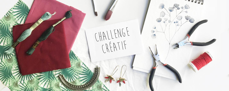 Challenge créatif : DIY, création - Un Grand Marché