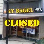 NY Bagel Closed Huntington WV
