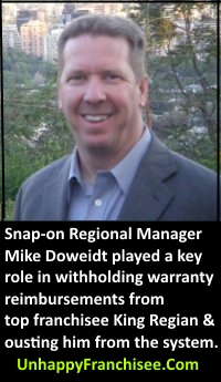 snap-on mike doweidt