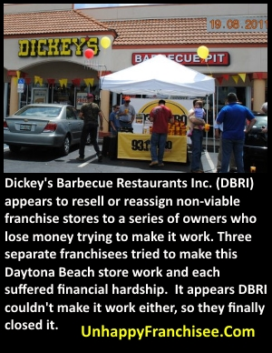 Dickey's franchise