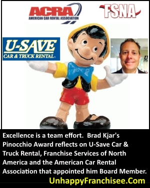 Brad Kjar Pinocchio Award