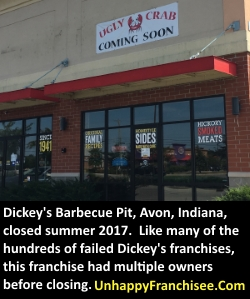 Dickeys Barbecue Closed