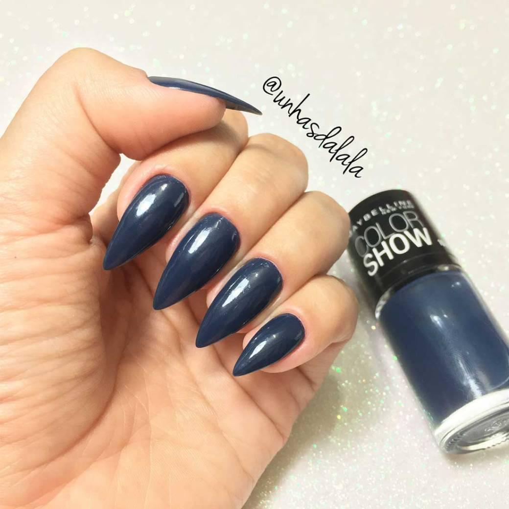 Esmalte Maybelline COLOR SHOW - Blue Jeans e Red Carpet