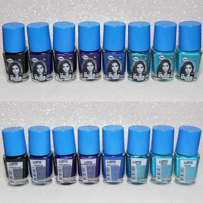 Esmalte Anitta Boom Pop azul