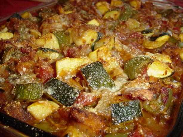 Zucchini and Hamburger Casserole