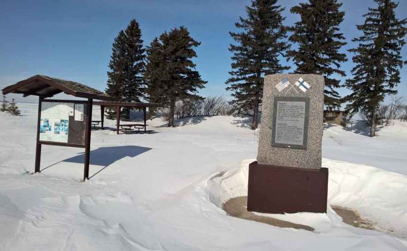 JOE GREENWOOD: 20,000 Leagues Into The Sky — Finnish Pioneers Monument Near Rolla, N.D.