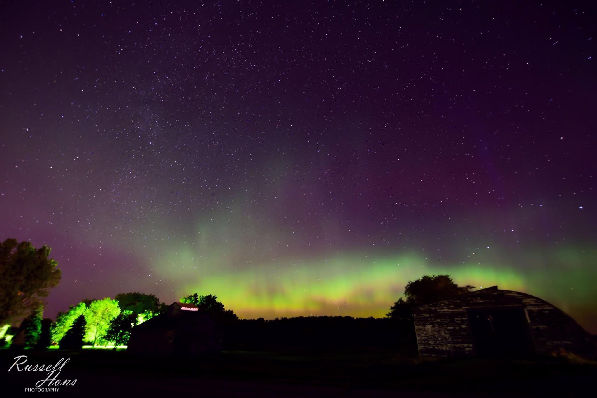 russ hons photo gallery aurora borealis september 11 2015