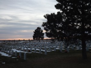 North Dakota Veterans Cemetery.