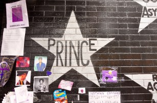 """Prince's star at First Avenue, the nightclub where """"Purple Rain"""" was filmed, in downtown Minneapolis."""