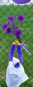 Purple monkey.