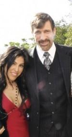 Henry Nicholas and his girlfriend, Melissa Montero, in their happier days.