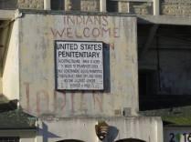 Welcome to Alcatraz Island.
