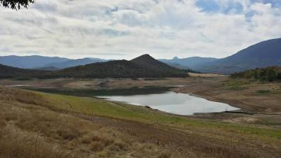 September 30 : Hike to Emigrant Lake near Ashland, Ore. Irrigation lake about done for the season. Beautiful place.