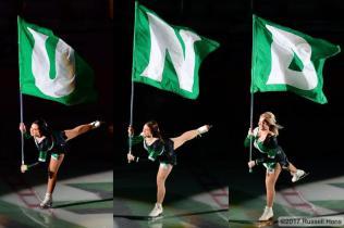 UND Flag Cheer