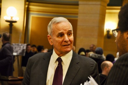 Gov. Mark Dayton proclaimed today Minnesota Department of Human Rights Day.