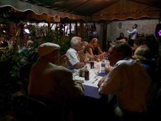 This is another entrepreneurial restaurant created in the courtyard of a private home in Matanzas.