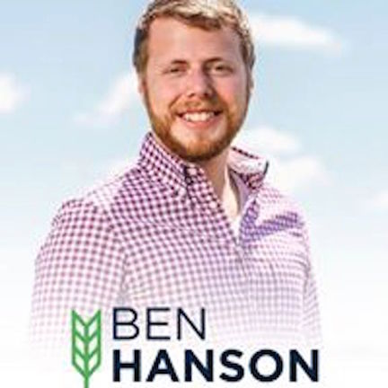 JIM FUGLIE: View From The Prairie — Ben Hanson For Congress: A Good Idea