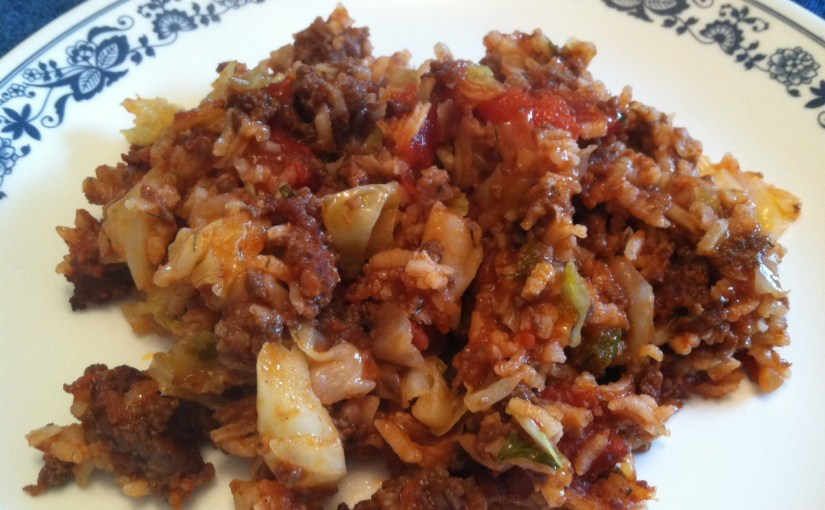 CHEF JEFF: One Byte At A Time — Unstuffed Cabbage Casserole