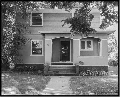 810 Colfax St. in Evanston, Ill., my home in the mid-1960s, when I studied at Northwestern University's Medill School of Journalism.