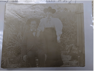Almanzo and Laura in Florida.