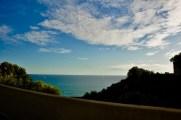 Spanish coastline between Barcelona and the Coasta Brava.