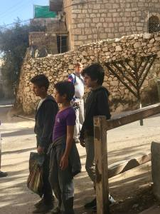At 14, Palestinian children can be jailed.